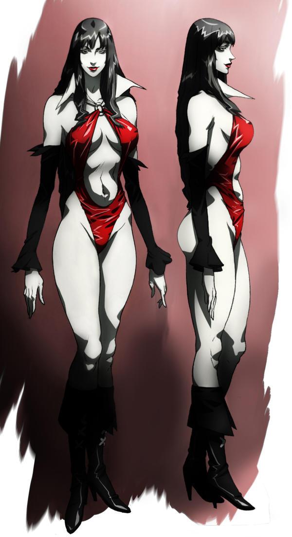 Vampirella animated by CHUBETO