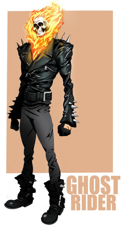 Ghost Rider by CHUBETO