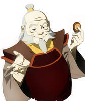 Uncle Iroh by CHUBETO