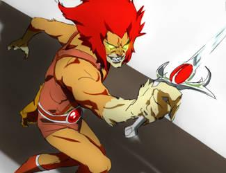 Mumm-ra/ red lion-o by CHUBETO