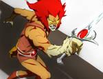 Mumm-ra/ red lion-o