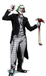 The Joker sketch by CHUBETO
