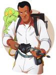 Winston and Slimer