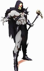 Skeletor sketch by CHUBETO