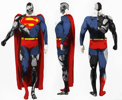 Superman cyborg
