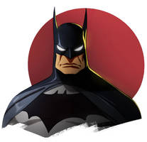 Batman sketch by CHUBETO