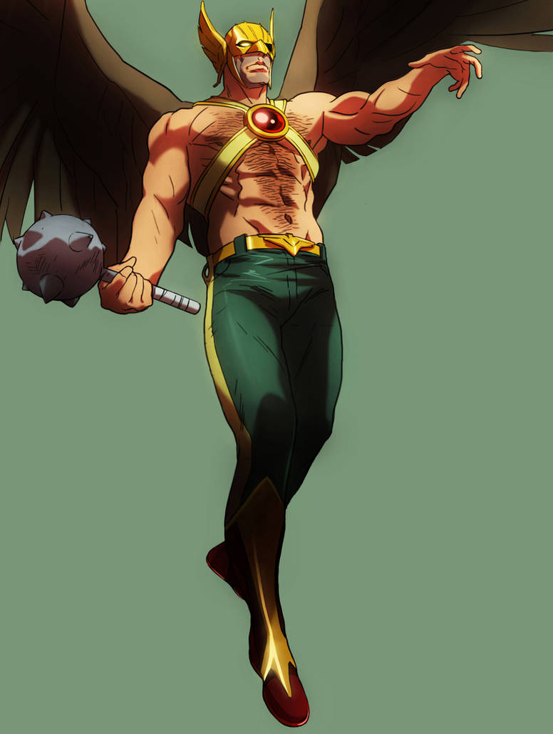 Hawkman Commission by CHUBETO