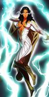 Thunder Woman OC COMMISSION