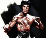 Bruce Lee by CHUBETO