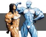 Miranda and Liara T'Soni Mass Effect