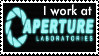 I Work At Aperture Labs by EtherealStardust