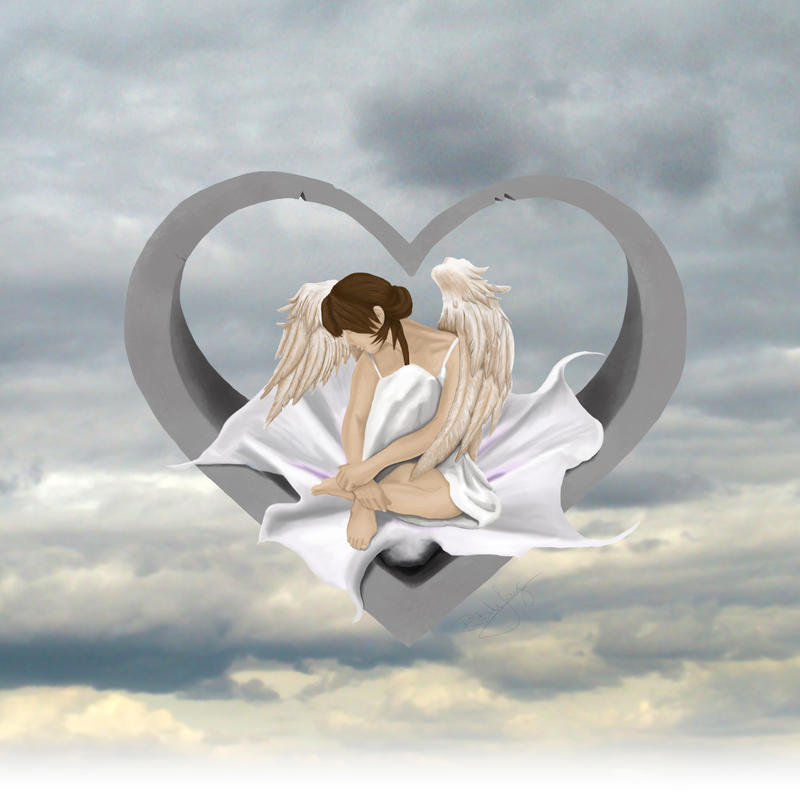 Angel heart by ritahlang
