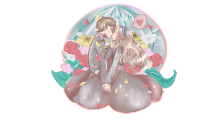 kokoro and mitsuru episode 17 by BerryKiss677