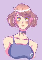 manga girl look by BerryKiss677