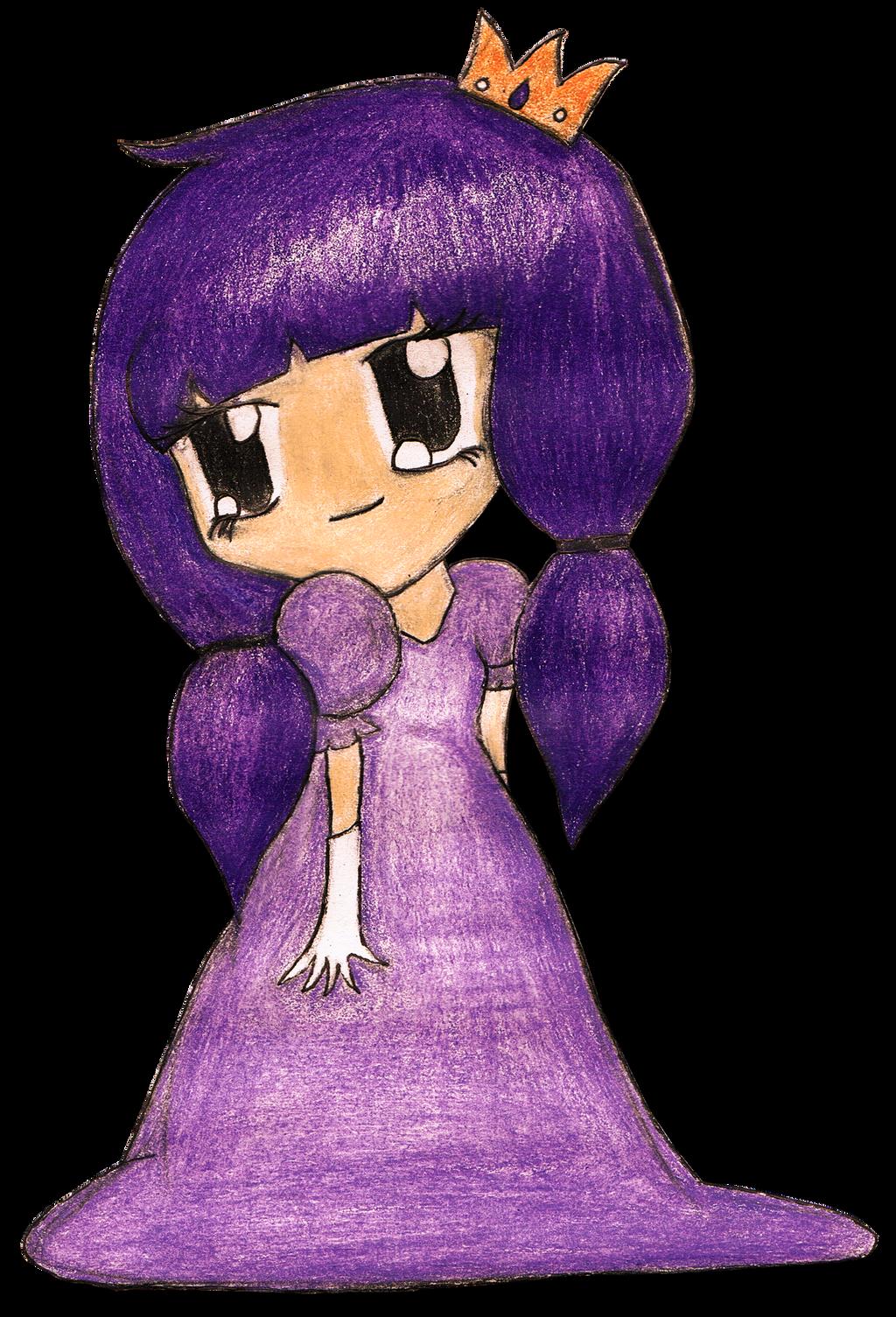Purple Princess Purple Chibi Pr...