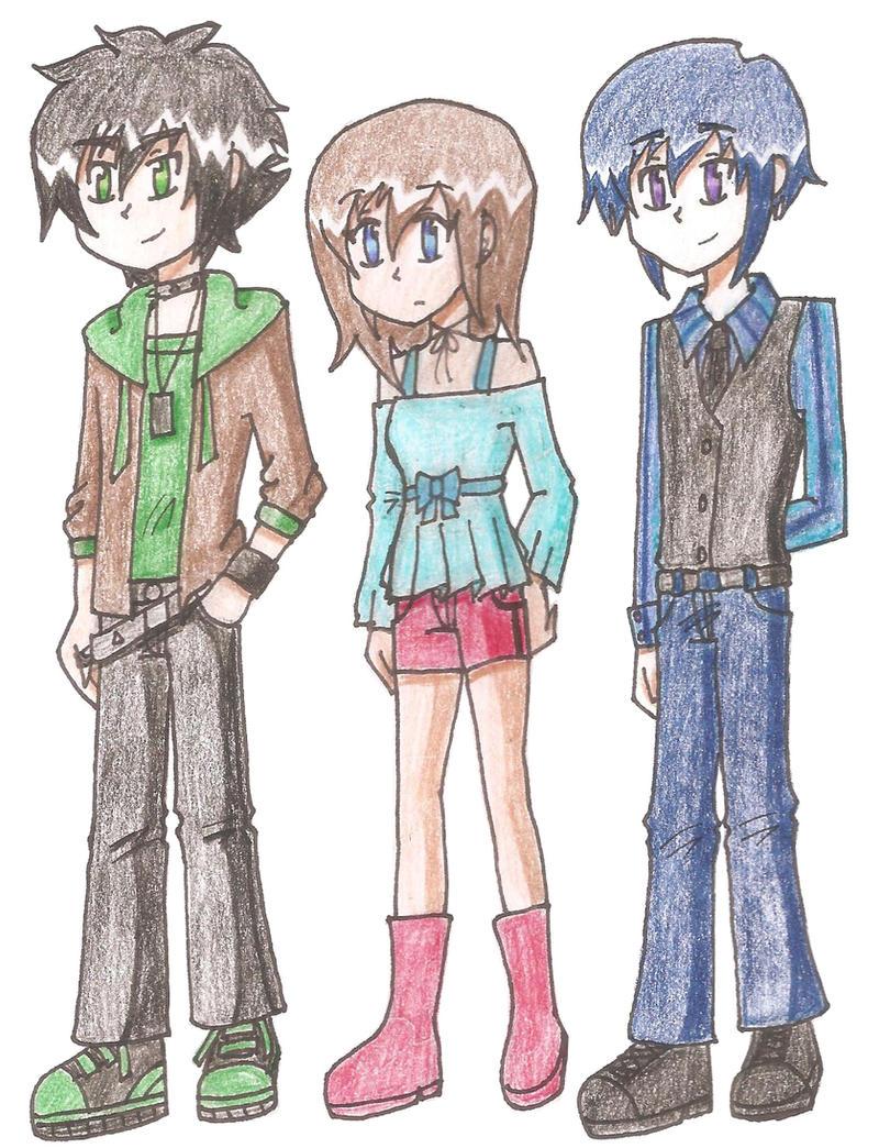 Gakuen Okoku: Regular Clothes by SapphireWingsYuki