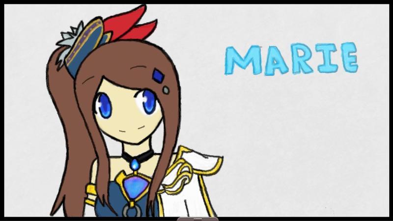 Marie as Lana of Hyrule Warriors by SapphireYuki-Sama