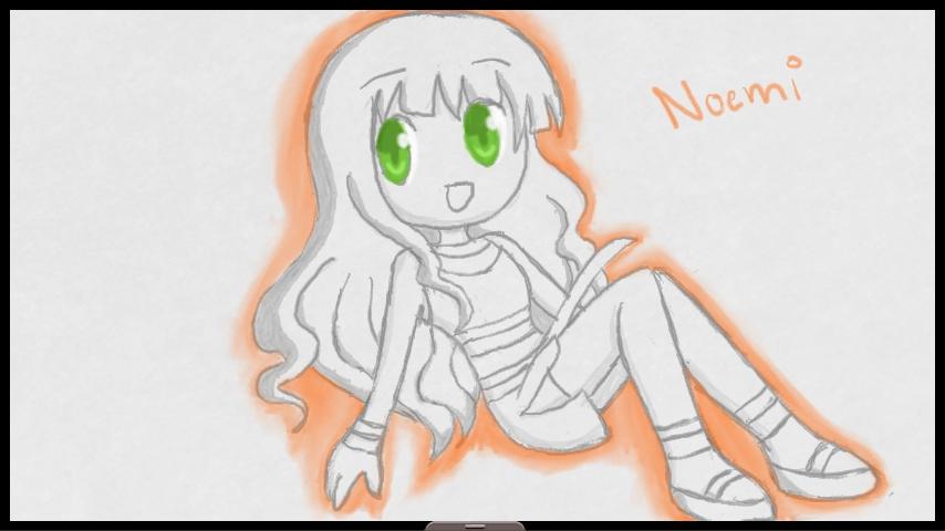 Chibi Noemi by SapphireYuki-Sama