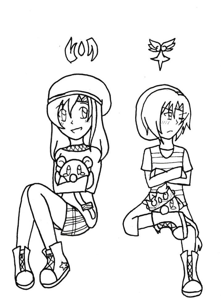 The Faust Siblings by SapphireYuki-Sama