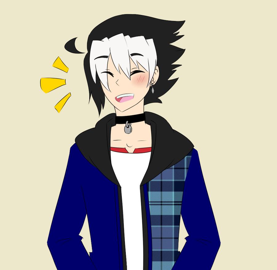NH: Happy expression Ritsuka by SapphireWingsYuki