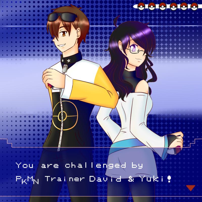PKMN: Challenge ft. David by SapphireWingsYuki