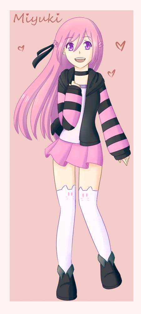 Cartoon Aunt's Contest: Miyuki by SapphireWingsYuki