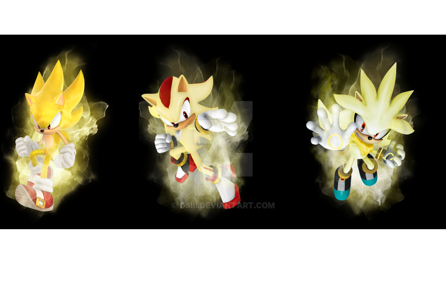 Sonic Shadow Silver By Dsiii