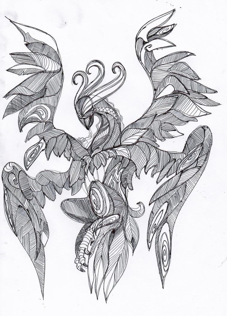 Shriek-hawk by hashhaha