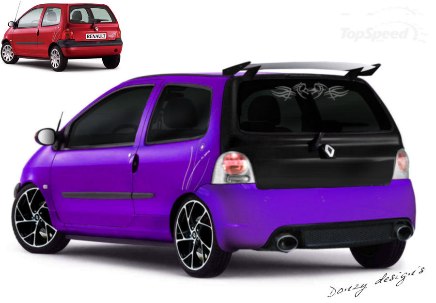renault twingo tuning by donzy114 on deviantart. Black Bedroom Furniture Sets. Home Design Ideas