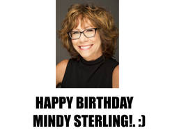 Happy (Late) Birthday Mindy Sterling! by Nolan2001
