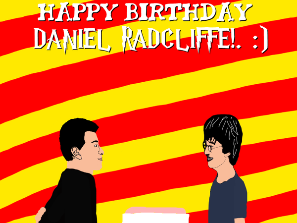 Happy Birthday Daniel Radcliffe! by Nolan2001