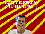 Happy Birthday Stephen King!