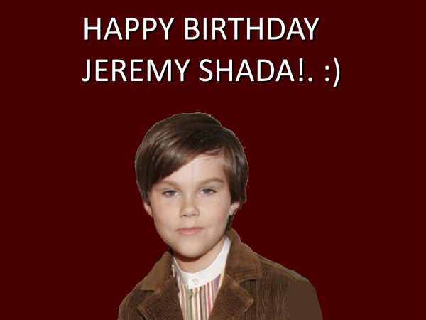 Happy Birthday Jeremy Shada! by Nolan2001
