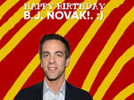 Happy Birthday BJ NOVAK!