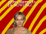 Happy Birthday JK ROWLING!