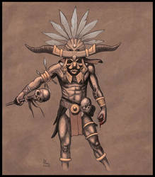 Witch Doctor by TepesArt