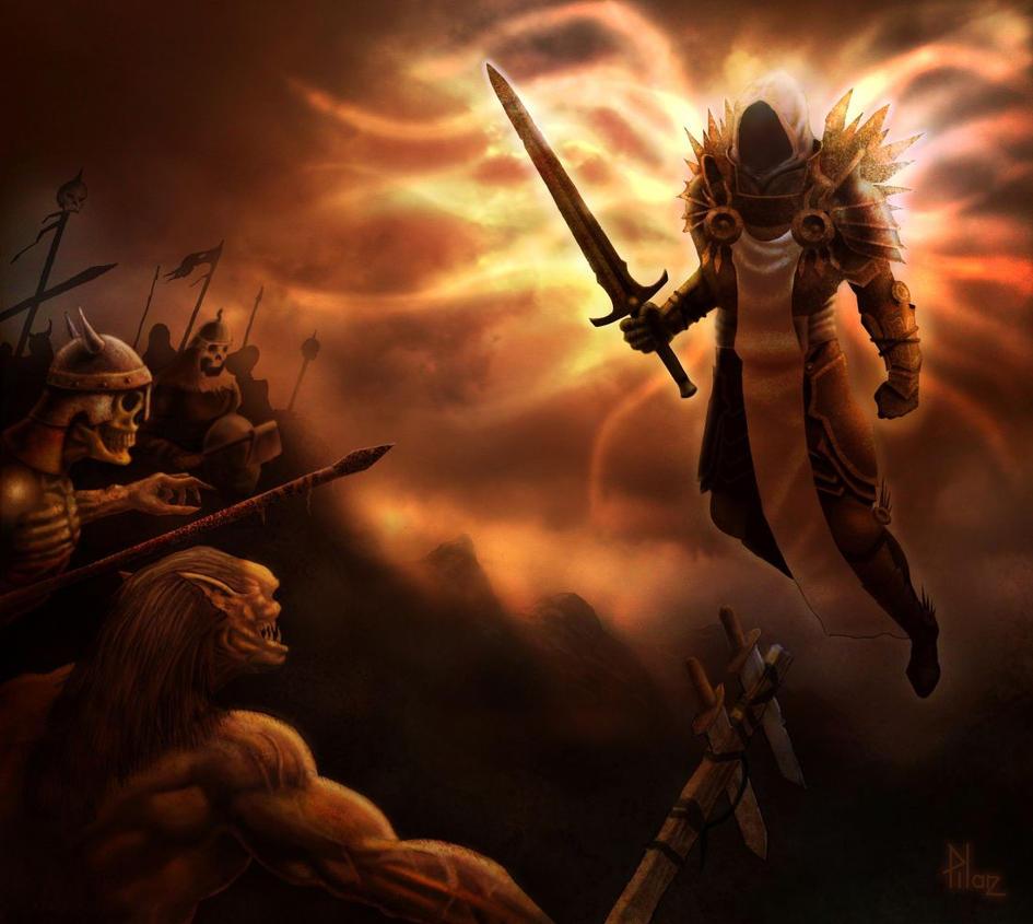 Tyrael- Sin War by TepesArt