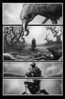 Diablo comic book. Page 2. by TepesArt