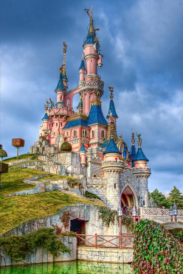 замок disney фото