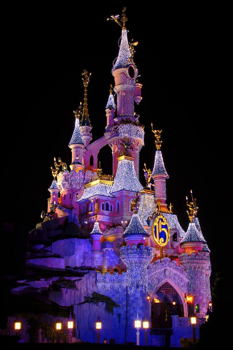 Beautiful Disney Castle, USA.