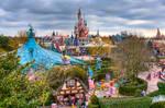 Fantasyland, Disneyland Paris by azerinn