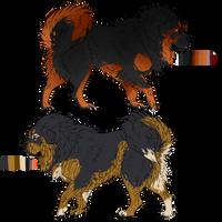 Tibetan Mastiff Adopts// Batch 3 [CLOSED] by VikaVolttail