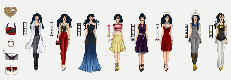 Rebecca's Outfits