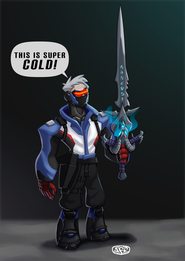Soldier 76 is Death Knight? by Sharinflan88 on DeviantArt