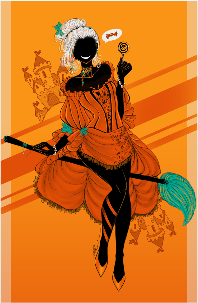 Pumpkin Witch by AShiori-chan