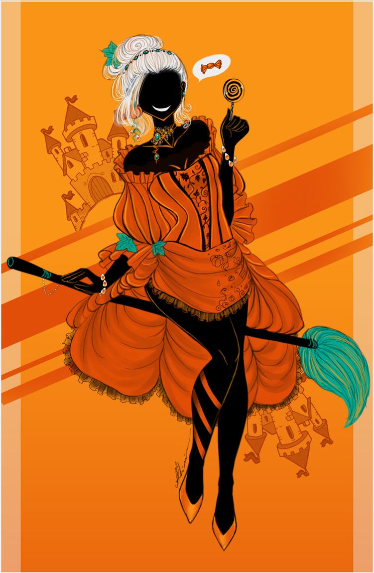 Pumpkin Witch by AShiori-chan