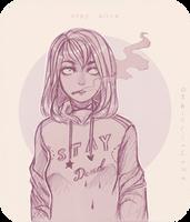 Pencil Dead Ev by AShiori-chan