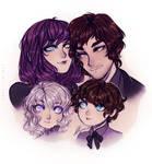Hero, Yuri and children
