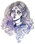 Sketchbook. Moon Witch
