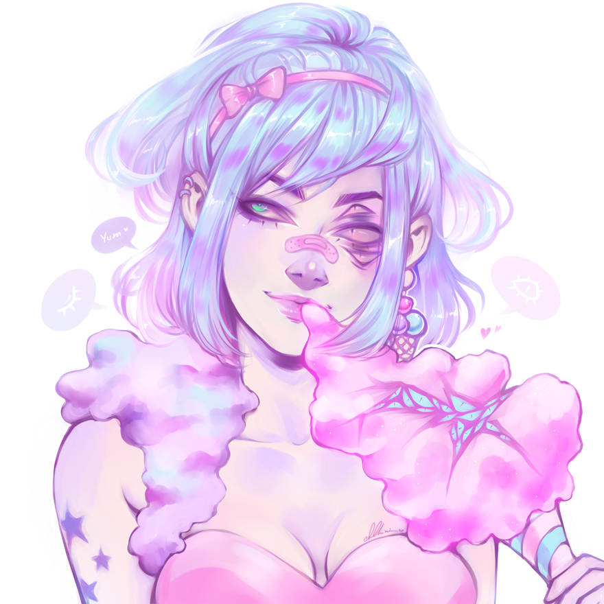 Redraw. Cotton Candy